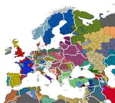 Germany Map Europe by I Overlaid Today U0027s European Borders Over The Eu4 Map However It