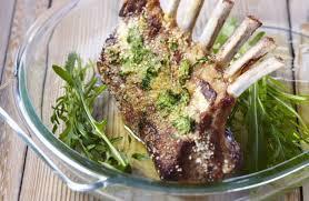 cuisiner un carré d agneau carrés d agneau en persillade recettes de cuisine la viande fr