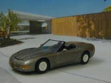 5th generation corvette chevrolet corvette c5 convertible black autoart 1 64 ebay