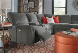 Sectional Leather Sofas With Recliners by Furniture Leather Reclining Sectional Lazyboy Sectional