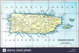 Tos Map Porto Rico Stock Photos U0026 Porto Rico Stock Images Alamy