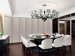 Long Dining Room Chandeliers Dining Room Lighting Contemporary Classy Design Luxury Drum Shade
