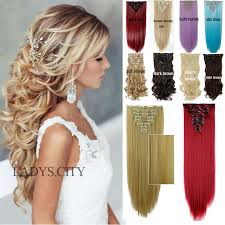 real hair clip in extensions factory price 24inches 66cm real thick clip in hair extensions