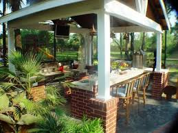 enchanting tropical outdoor kitchen designs nice home interior