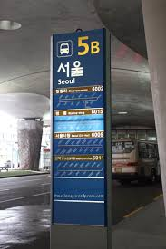 myeong dong bus 6015 from incheon airport to myeongdong
