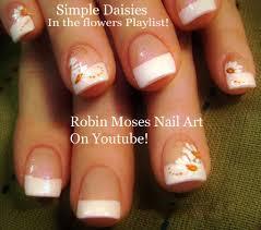 robin moses nail art elegant diy white wedding nails hand painted