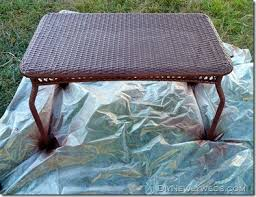 How To Spray Paint Patio Furniture Diy Newlyweds Diy Home Decorating Ideas U0026 Projects Spray