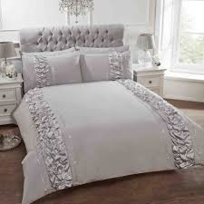 Shabby Chic Boutiques by Provence Fancy Luxury Ruffled Shabby Chic Boutique Bedding Duvet