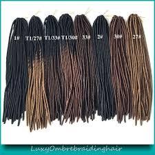 ombre crochet braids 20 ombre faux locs crochet braids pre braided synthetic stylish