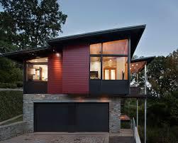 hillside garage plans garage house houzz