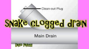snake a clogged sink drain pipe youtube