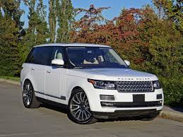 matte white range rover 2016 land rover range rover autobiography carcostcanada