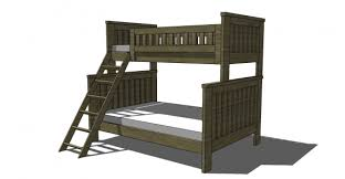 Bunk Bed Design Plans Free Woodworking Plans To Build An Rh Inspired Kenwood