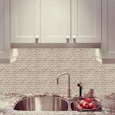 kitchen cabinet home depot canada mini subway tile polished wooden white limestone mosaic