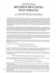 bureau de change republique bureau de change republique fresh revision des listes electorales