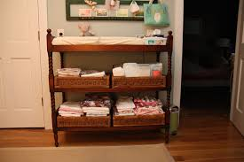 small table with shelves baby changing tables galore ideas inspiration