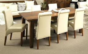 dining table mango wood dining room chairs table 8 zinc with top