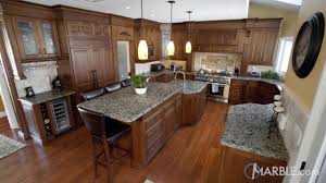 single island or raised breakfast bar kitchen tips best suited for one island because the two tiers can make a small kitchen seem too choppy two tiered islands or better known as breakfast bars will not