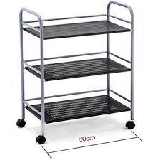 chariot cuisine étagère chariot avec roulettes pour cuisine ou salle de bain meuble
