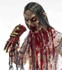 lifesize man eater zombie halloween prop