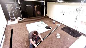 building a home theater my home theater construction part 12 building the screen youtube
