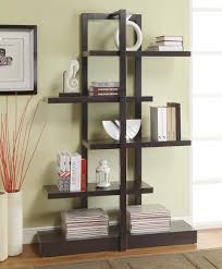 White Open Back Bookcase by Home Design Modern Bookcase Contemporary Bookshelf White