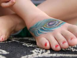 feather ankle tattoo 65 amazing feather tattoos on foot