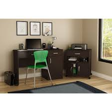 Computer Desk With File Cabinet by South Shore Axess Chocolate File Cabinet 9051691 The Home Depot