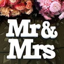 popular mr and mrs wood letters buy cheap mr and mrs wood letters