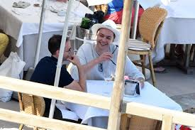 jim parsons and hubby todd spiewak enjoy their capri honeymoon