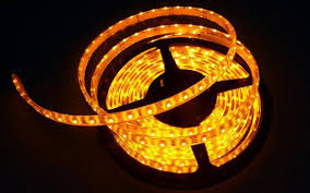 Ribbon Lights Outdoor by Yellow Led Strip Light Flexible Led Strips Waterproof Ribbon