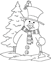 snowman coloring pages pdf snowman for coloring together with astonishing snowman printable