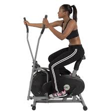elliptical bike 2 in 1 cross trainer exercise fitness machine home