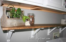 Building Wood Shelf Brackets by On Bliss Street How To Build A Simple Shelf Bracket On Bliss