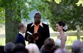 how to officiate a wedding who will officiate your wedding friend religious figure