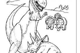 coloriage de dinosaures le repas des brachiosaures