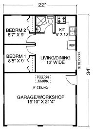 one story garage apartment floor plans garage plans garage plan with apartment and workshop one level