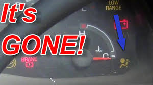 ford f150 airbag light replacement f150 air bag light fix youtube