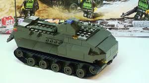 amphibious vehicle ww2 sluban assault amphibious vehicle a lego tank wars review youtube