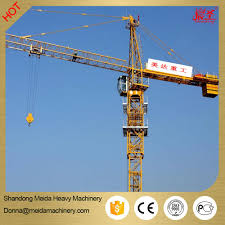 small fixed jib crane 4 tons tower crane machine for sale topkit