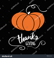 happy thanksgiving day give thanks autumn stock vector 699873367
