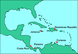 Map Curacao Nmita Maps And Faunal Lists