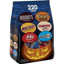 halloween cany hershey u0027s halloween candy bar assortment 220 ct 83 oz bag