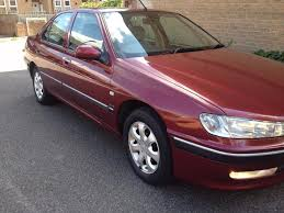 peugeot 406 glx petrol engine e7 finished in metallic maroon
