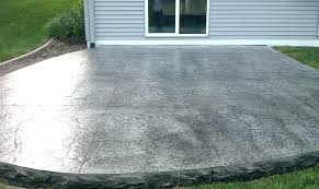 up with concrete stamping stamped concrete patio designs ideas