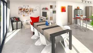 plan maison cuisine ouverte awesome cuisine ouvert sur salon 2 plan maison moderne semnoz
