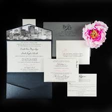 wedding invitations chicago chicago skyline wedding invitations chic shab