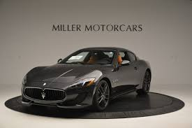 maserati granturismo black 2017 maserati granturismo sport stock m1633 for sale near