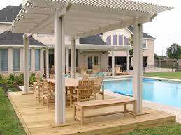 Glass Patio Fencing Wooden Patio Deck Designs Home U0026 Gardens Geek