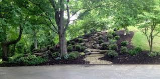 rocks best landscaping a hill ideas on pinterest sloped yard